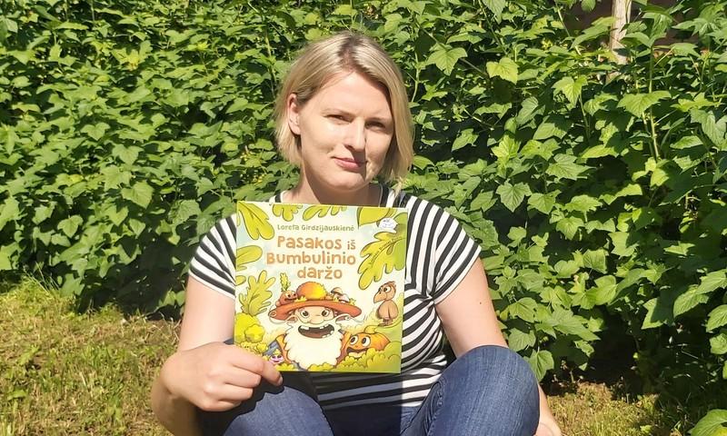 """Vasarišką pasakų knygą pristačiusi L.Girdzijauskienė: """"Pasakų skaitymas – puiki terapija ir vaikams, ir tėvams"""""""