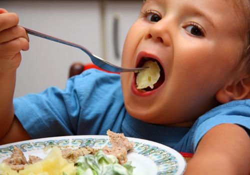 Ką valgyti 1-2 metų vaikui?
