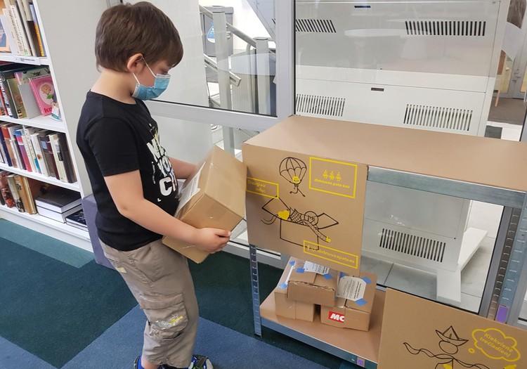 Iššūkių dėžutė mažiesiems kūrėjams