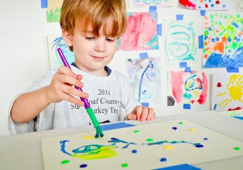 Vaiko piešiniai: ką jie atskleidžia?