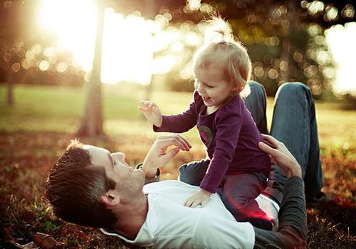 Kuo svarbi tėviška meilė?