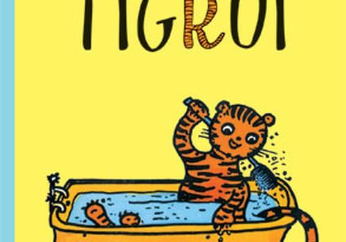 """Knygą """"Pasakos kalbančiam tigrui laimėjo""""..."""