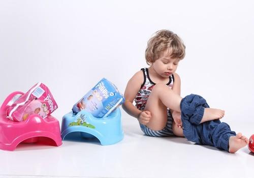 Kodėl vaikai praranda susidomėjimą puoduku?