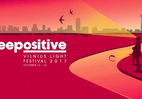 """Vilniaus šviesų festivalis """"Beepositive"""" 2017 - jau šį savaitgalį"""