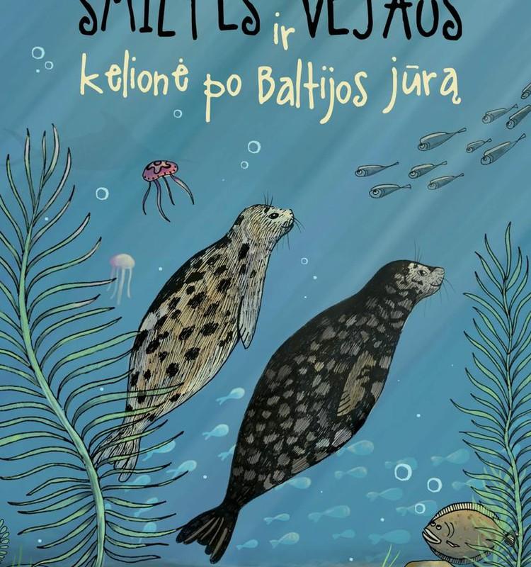 """Kas laimi knygą """"Smiltės ir Vėjaus kelionė po Baltijos jūrą"""""""