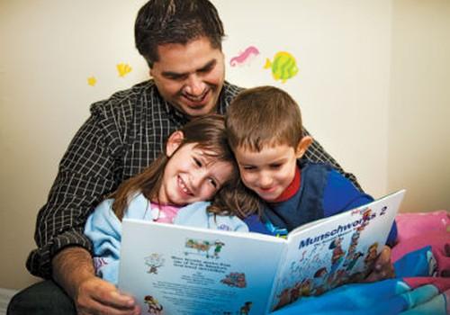 Diskusija: Kas geriau seka pasakas - mama ar tėtis?