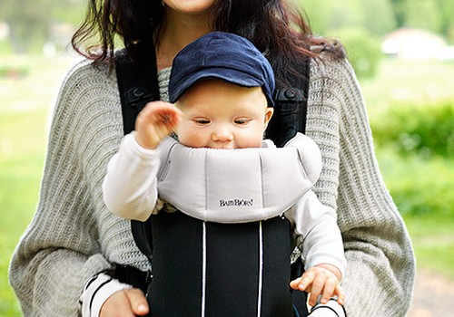 Nuo kada kūdikį galima nešioti nešioklėje?
