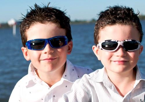 Ar reikalingi vaikams akiniai nuo saulės?