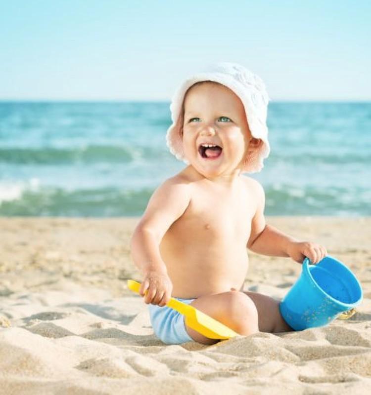 Kaip rengti kūdikį per karščius?