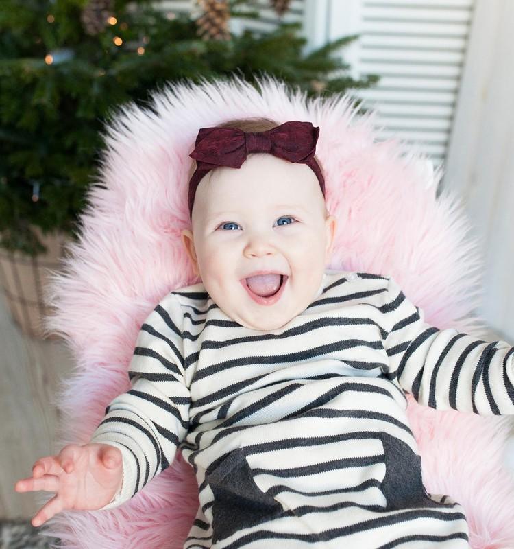 Kūdikio judėjimo pokyčiai: per kurį pirmųjų metų mėnesį pažengta toliausiai?