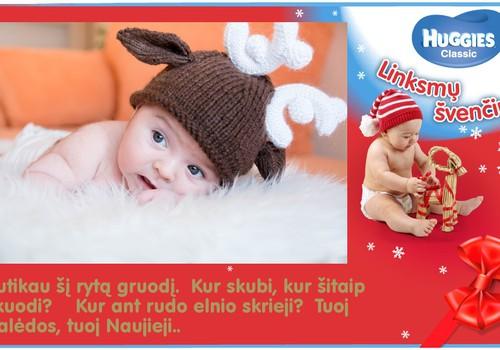 Aš- pats svarbiausias Kalėdų Senelio elnias !!!