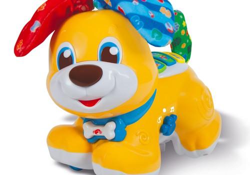 """Konkursas Facebooke: Laimėkite """"Baby Clementoni"""" kalbantį šuniuką Slapuką"""