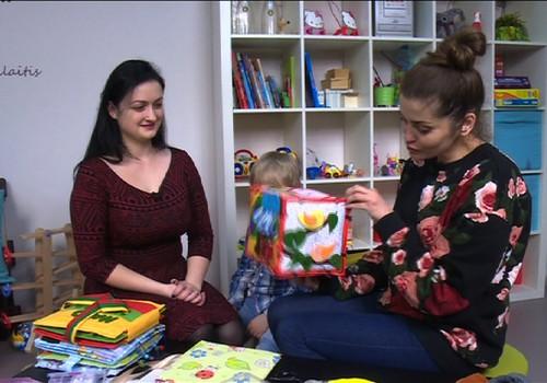 TV Mamyčių klubas 2016 04 23: Medituojame, renkamės saugius žaislus ir kuriame lavinamąją knygelę