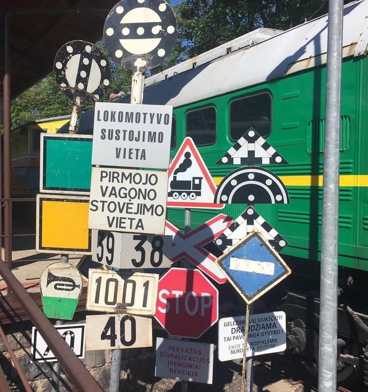 Vasaros gidas: Vilniaus geležinkelių muziejaus lauko ekspozicija