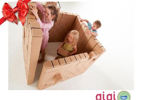 Huggies® šventinių dovanų katalogas: GiGi Bloks mažiems ir dideliems statybininkams