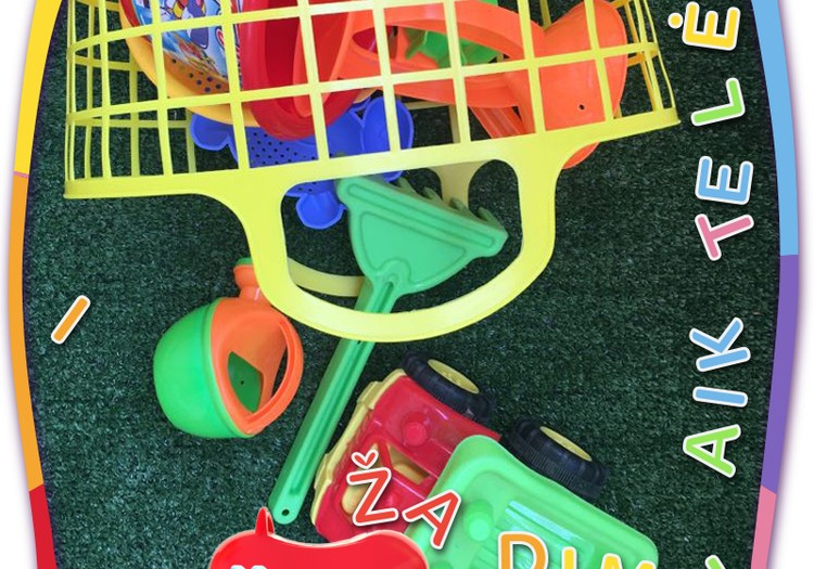 5 nauji ir įdomūs smėlio žaislai!