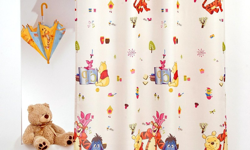 Papuoškite vaiko kambarį žaismingomis užuolaidomis