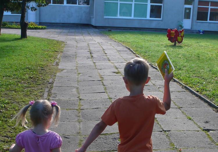 Austėja darželyje: smagu ir graudu