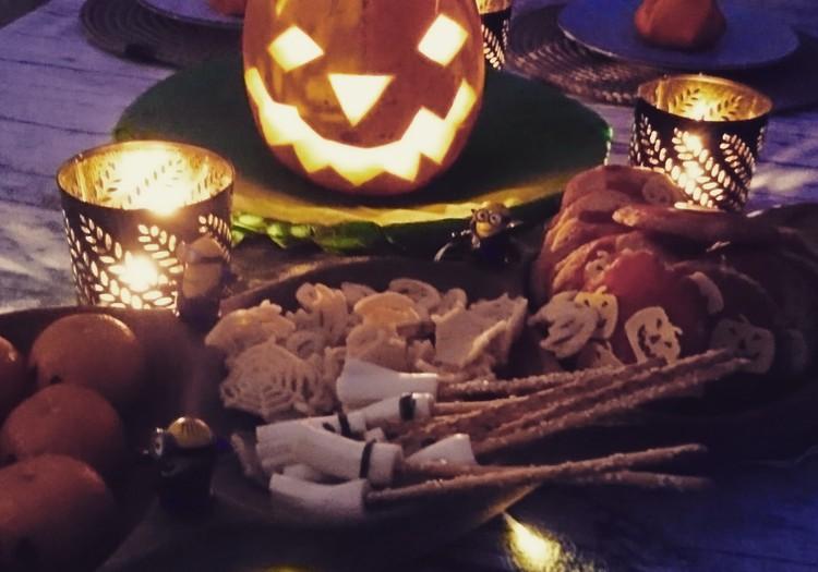 Mūsų šeimos Helovino vakarienė