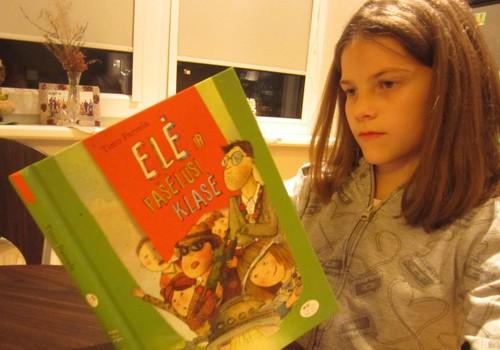 """Norite juoktis susiėmę pilvus? Perskaitykite """"Elė ir pašėlusi klasė""""!"""