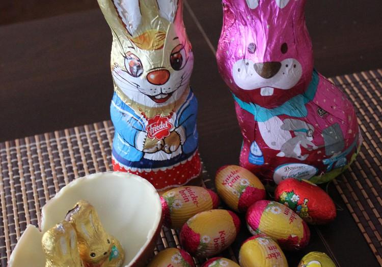Velykos praėjo - liko būrys saldžių zuikių ir kiaušinių