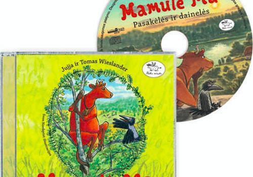 """Laimėk """"Mamulė MŪ"""" pasakėlių ir dainelių CD!"""