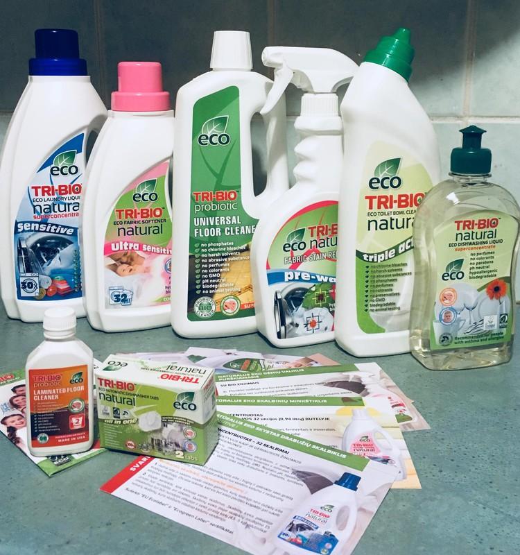 TRI-BIO - tai puiki ekologiška alternatyva ir namuose visur švara!