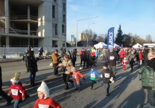 Mes dalyvavome Kalėdiniame maratone!