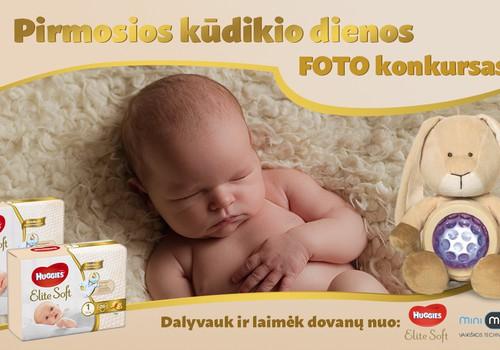 """FOTO konkursas """"Pirmosios kūdikio dienos"""""""