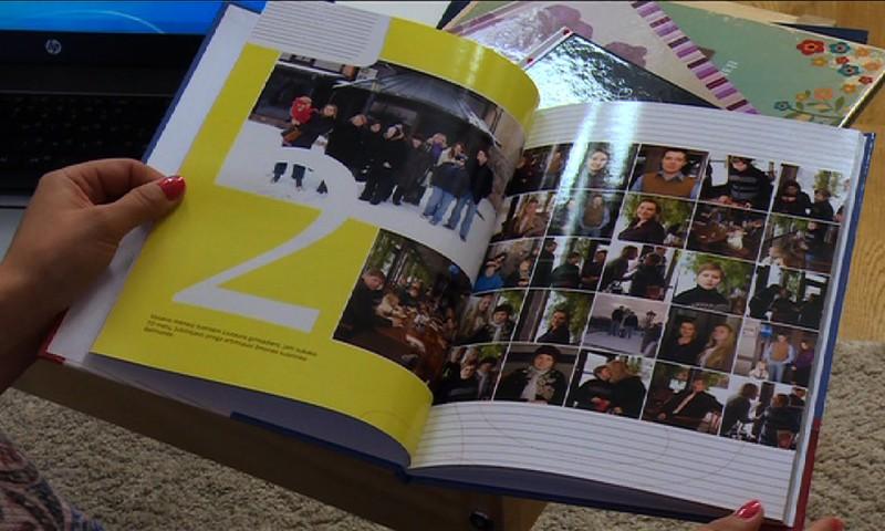 Pirmieji atsiminimai - foto knygoje