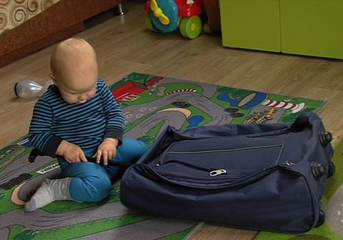 Keliaujame su kūdikiu: ką įsidėti į lagaminą
