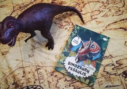 Dinozaurų užkerėtojo knyga