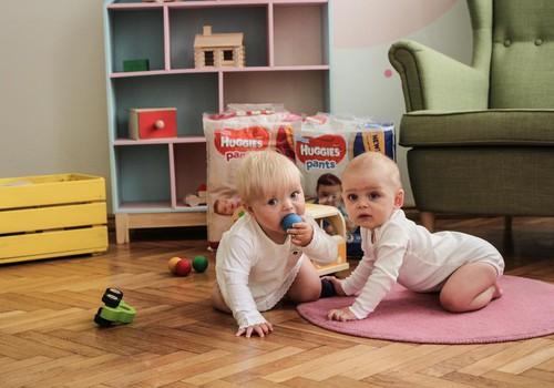 Kokie naudingiausi žaislai mažyliui nuo 1 metų?