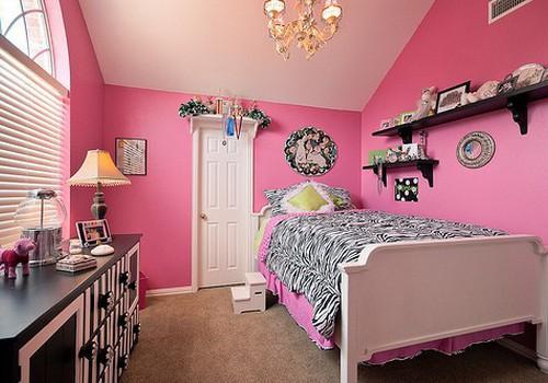 15 idėjų, įrenginėjant savo dukrai kambarį
