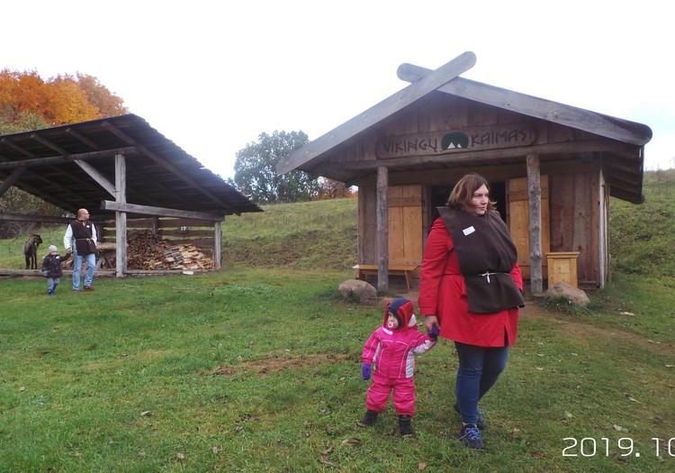 Edukacija Vikingų kaime