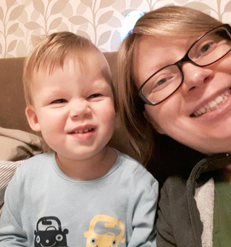 Du mažyliai namuose: apie kantrybę