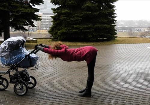 Simonos blogas: PRATIMAI lauke su vežimėliu
