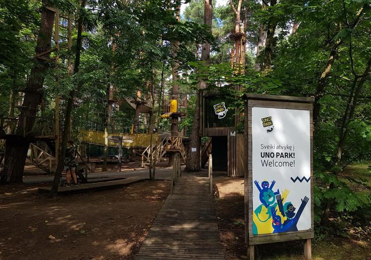 Jei pasiilgote nuotykių, užsukite į Uno parką
