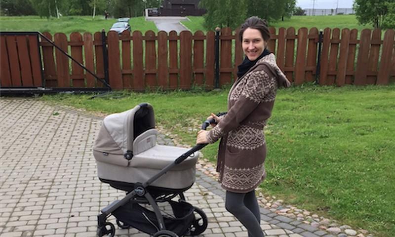 """Goda Skačkauskaitė rinkdama vežimėlį sūnui tapo jų """"eksperte"""""""