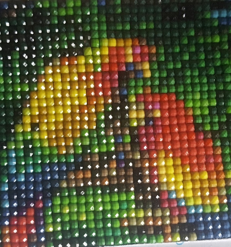 Apie deimantines mozaikas
