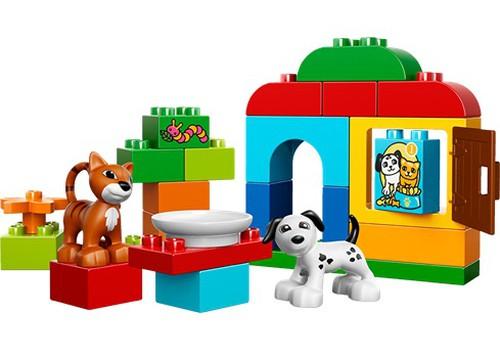 KONKURSAS: Laimėk vieną iš 5 LEGO DUPLO prizų!