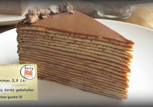 """""""Mamyčių klubo"""" gimtadienyje skanausime """"Gusto blyninės"""" blynų tortą!"""