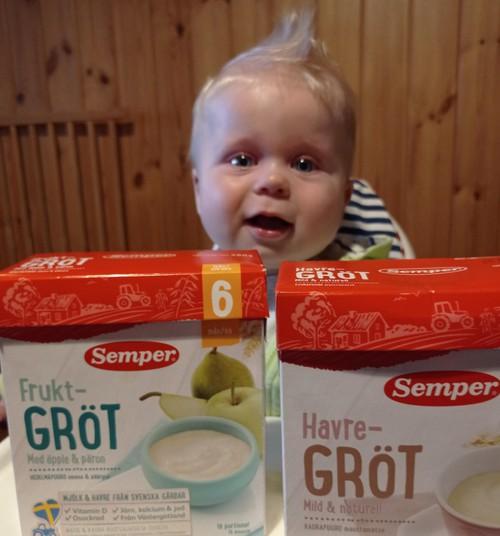 Abi Semper košes sūnus valgė labai noriai
