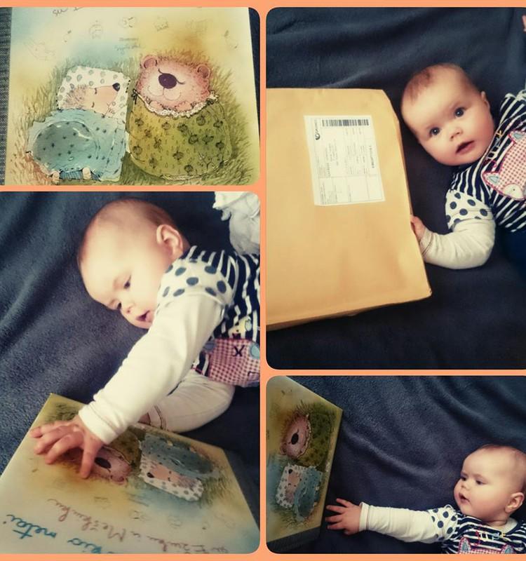 """Įspūdžiai laimėjus knygą """"Pirmieji kūdikio metai su Ežiuku ir Meškiuku"""""""
