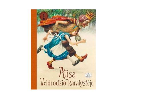 """Laimėk knygą """"Alisa Veidrodžio karalystėje""""!"""