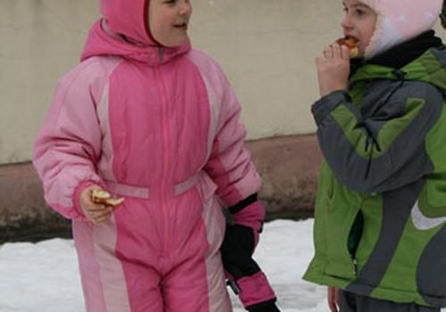Žiema žiema, bėk iš kiemo! Saulutės darželyje jos tikrai neliko :)