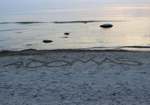 VASAROS GIDAS 2014. Pirmos atostogos trise. Su ratais. Prie jūros.