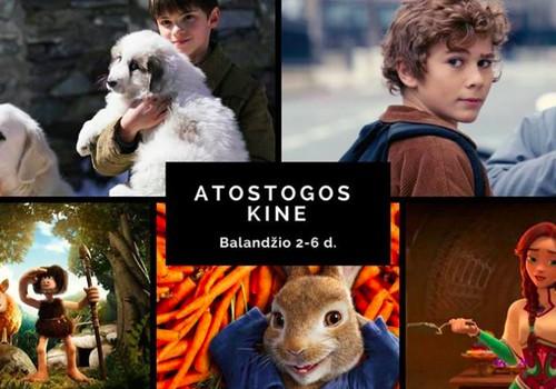 Atostogos kine: filmai atostogaujantiems vaikams