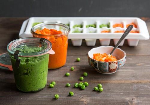 Mitybos tvarkaraštis: kada ir kiek duoti įvairių produktų