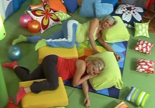 Nėščiosios gimnastika. Relaksacija